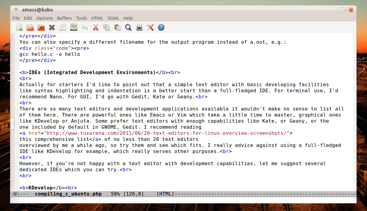 Install Php: Emacs Install Php Mode
