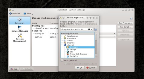 How-To: Automatically Run Applications at KDE Start-Up | TuxArena