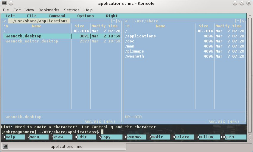 20 Great Terminal Replacements for GUI Applications | TuxArena
