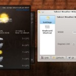 Install Yahoo! Weather Plasmoid in KDE