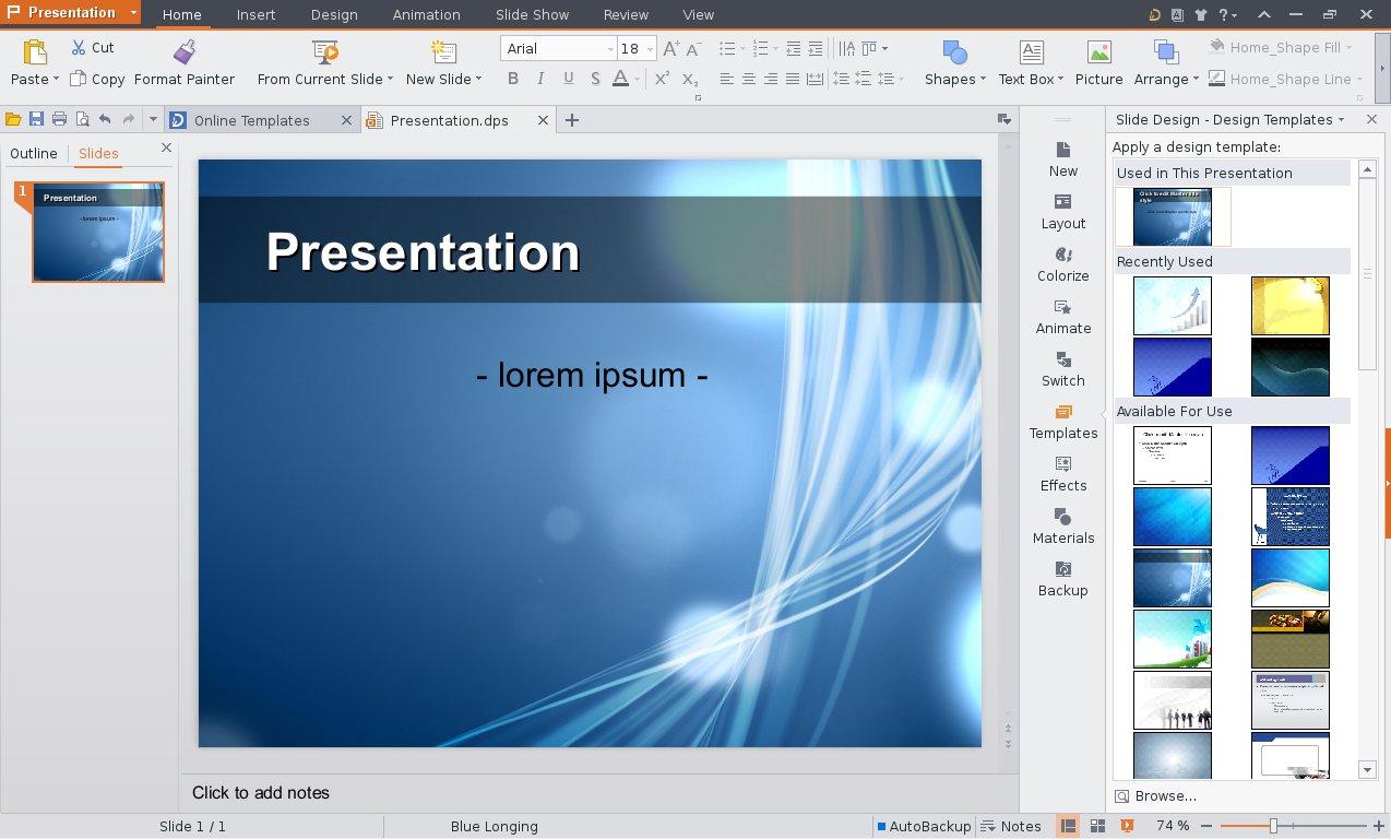 design template kingsoft presentation – sweatsweat, Presentation templates