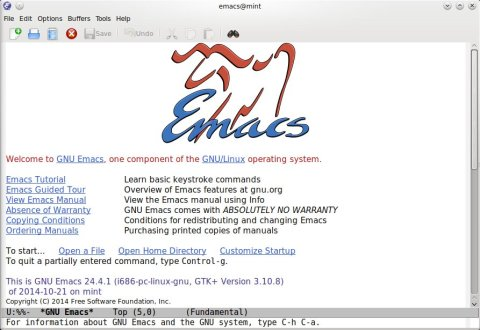 Emacs 24 4 Ships with Integrated Web Browser [Ubuntu Installation