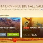 Over 100 Games with 50% Discount During GOG.com 2014 DRM-Free Big Fall Sale