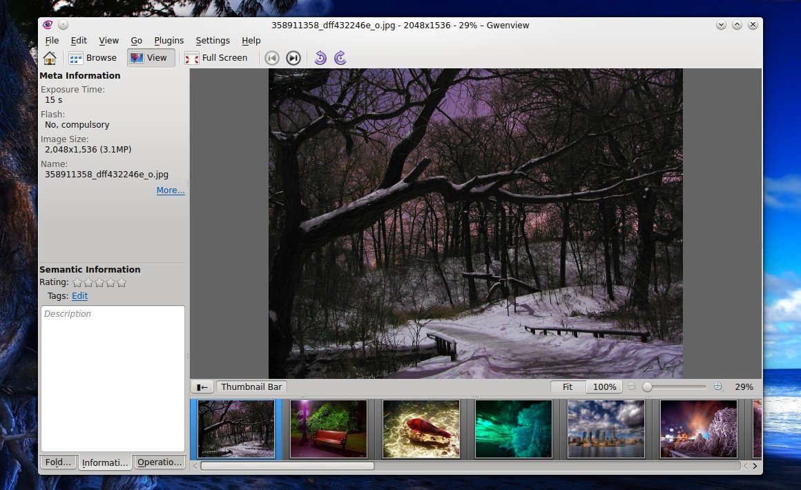 Gwenview Image Viewer for KDE ...